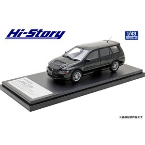 Hi Story 1/43 (HS298BK) MITSUBISHI LANCER Evolution WAGON GT-A(2005)Black Mica|modelcarshop-ss43