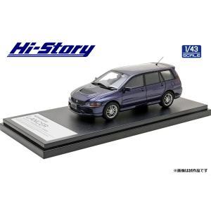 Hi Story 1/43 (HS298BL) MITSUBISHI LANCER Evolution WAGON GT-A(2005)Deep Blue Mica|modelcarshop-ss43