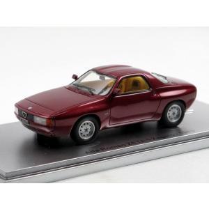 1/43 KESS ミニカー アルファロメオ Alfa Romeo ZETA 6 Zagato Coupe red metallic 1983|modelcarshop-ss43