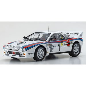 KYOSHO 1/18 (KS08306A) Lancia Delta HF Integrale 1992 Monte Carlo #4|modelcarshop-ss43