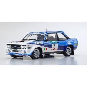 KYOSHO 1/18 (KS08376A) Fiat 131 Abarth Rally 1980 Portugal # 5|modelcarshop-ss43