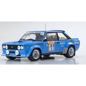 KYOSHO 1/18 (KS08376C) Fiat 131 Abarth Rally 1980 San Remo # 11|modelcarshop-ss43