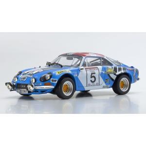 1/18 京商 ミニカー ルノー アルピーヌ Renault Alpine A110 1973 Tour de Corse #5|modelcarshop-ss43