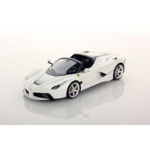1/43 ルックスマート ミニカー フェラーリ Ferrari LaFerrari Aperta Bianco Italia White|modelcarshop-ss43