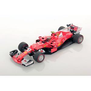 1/43 ルックスマート ミニカー フェラーリ Ferrari SF70H Monaco GP Kimi Raikkonen 2nd place #7|modelcarshop-ss43