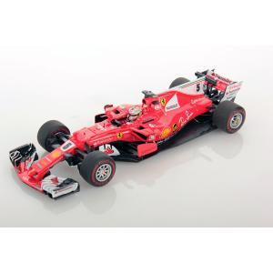 1/43 ルックスマート ミニカー フェラーリ Ferrari SF70H Monaco GP Sebastian Vettel Winner|modelcarshop-ss43