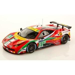 1/43 ルックスマート ミニカー フェラーリ Ferrari 458 Italia #51 Winner 24h Le Mans GTE Pro 2014|modelcarshop-ss43