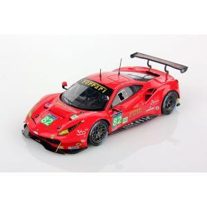1/43 ルックスマート ミニカー フェラーリ Ferrari 488 GTE Le Mans Series 2016 #82|modelcarshop-ss43
