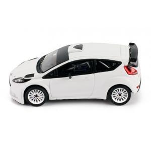 1/43 イクソ ミニカー フォード フィエスタ FORD FIESTA R5 RALLY SPEC 2015 Ready to race White modelcarshop-ss43 02