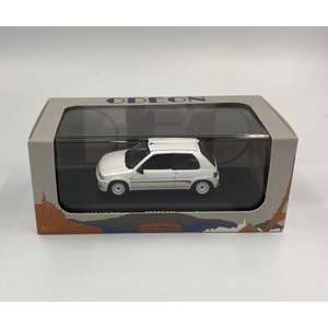 Altaya 1/43 (ODEON036) PEUGEOT 106 RALLY 1996 White|modelcarshop-ss43