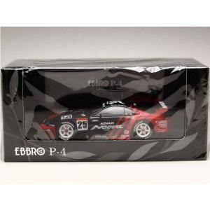 1/43 EBBRO P-4 ミニカー JGTC 2003 アドバン スープラ #25|modelcarshop-ss43