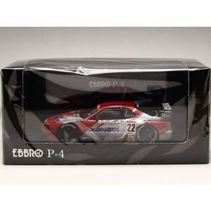 1/43 EBBRO P-4 ミニカー JGTC2002 スカイライン ザナヴィ ニスモ GT-R R34 No.22 前期モデル|modelcarshop-ss43