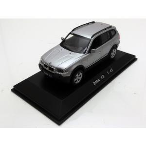 1/43 POTATO CAR ミニカー ポテトカー BMW X3 Silver modelcarshop-ss43