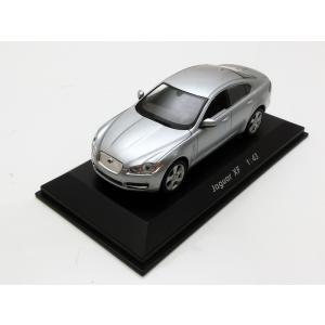 1/43 POTATO CAR ミニカー ポテトカー Jaguar XF Silver modelcarshop-ss43