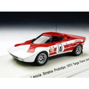 1/43 Reve Collection ミニカー ランチア ストラトス プロトティーポ 1973年 タルガ フローリオ 2位 #4|modelcarshop-ss43