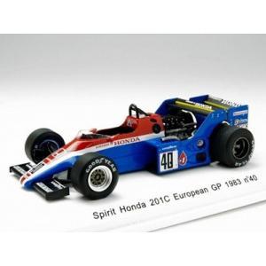 1/43 Reve Collection ミニカー Spirit Honda 201C European GP 1983 # 40|modelcarshop-ss43