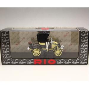 1/43 RIO リオ ミニカー フィアット FIAT 8 CV 1901|modelcarshop-ss43