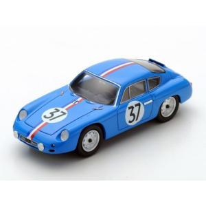 1/43 スパーク ミニカー Porsche 356B Carrera Abarth GTL Buchet Monneret Le Mans 1961|modelcarshop-ss43