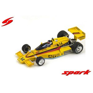 Spark 1/43 (S3371) ATS-Penske PC4 #34 6th Long Beach GP 1977|modelcarshop-ss43