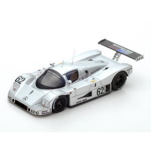 1/43 スパーク ミニカー メルセデス Sauber-Mercedes C9 No.62 5th Le Mans 1989|modelcarshop-ss43
