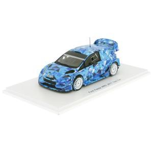 1/43 スパーク ミニカー フォード Ford Fiesta WRC Test Car Rallye WM 2017|modelcarshop-ss43