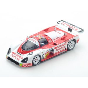 1/43 スパーク ミニカー TOYOTA 87C No.37 Le Mans 1987|modelcarshop-ss43