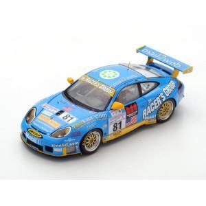 1/43 スパーク ミニカー Porsche 996 GT3 RS No.81 16th Le Mans 2002|modelcarshop-ss43