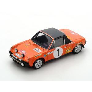 1/43 スパーク ミニカー ポルシェ Porsche 914/6 No.1 Monte Carlo Rally 1971|modelcarshop-ss43