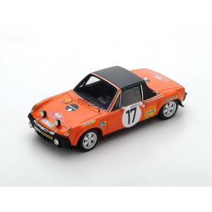 1/43 スパーク ミニカー ポルシェ Porsche 914/6 No.17 Monte Carlo Rally 1971|modelcarshop-ss43
