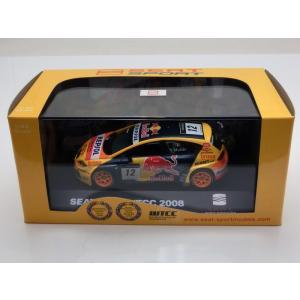1/43 SEAT ミニカー セアト レオン Seat Leon #12 WTCC 2008 Champion modelcarshop-ss43