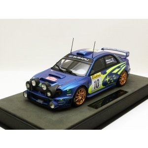 1/18 トップマルケス スバル インプレッサ Subaru Impreza S7 555 WRC No.10 2002 Monte Carlo Night Version modelcarshop-ss43