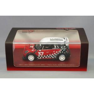 1/43 トゥルースケールミニチュア ミニカー 2011 MINI Countryman WRC