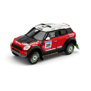 1/43 トゥルースケールミニチュア ミニカー 2011 Mini ALL4 Racing #305 Dakar Rally Monster X-Raid Team Gueriain Chichent|modelcarshop-ss43