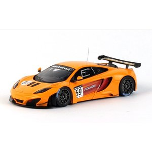 1/43 トゥルースケールミニチュア マクラーレン 2011 McLaren MP4-12C GT3 #59|modelcarshop-ss43