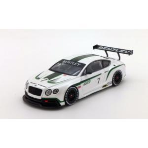 1/43 トゥルースケールミニチュア ミニカー ベントレー Bentley Continental GT3 #7|modelcarshop-ss43