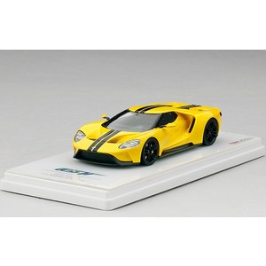 1/43 トゥルースケールミニチュア ミニカー フォードGT トリプルイエロー LA オートショウ Ford GT Triple Yellow 2015 LA Auto Show|modelcarshop-ss43