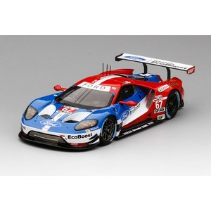1/43 トゥルースケールミニチュア ミニカー Ford GT #67 GTLM 2016 IMSA Monterey Grand Prix / Winner Ford Chip Ganassi Team USA|modelcarshop-ss43
