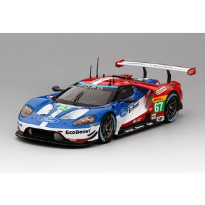 1/43 トゥルースケールミニチュア ミニカーフォード Ford GT #67 LMGTE PRO 2016 WEC 6 Hr. of Spa / 2nd Place|modelcarshop-ss43