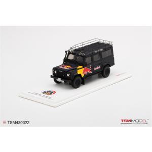 TSM Model 1/43 (TSM430322) Land Rover Defender Red Bull LUKA|modelcarshop-ss43
