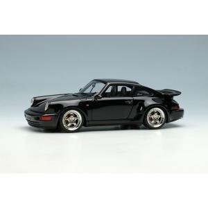 Make Up / Vision 1/43 (VM159D) Porsche 911 (964) Turbo S Light Weight 1992 Black|modelcarshop-ss43
