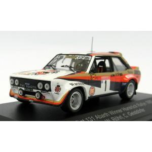 1/43 CMR(Classic Model REPLICARS) ミニカー フィアット Fiat 131 Abarth Winner Hunsruck Rallye 1980|modelcarshop-ss43