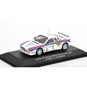 1/43 CMR(Classic Model REPLICARS) ミニカー ランチア Lancia 037 #1 Winner Rally Montecarlo 1983|modelcarshop-ss43