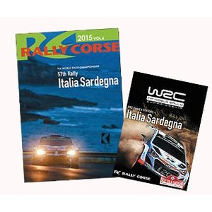 WRC 公式 DVD ラリー・コルセ 2015年 Vol.6 ラリー・イタリア Rally Corse Vol .6 57th Rally Italia Sardegna|modelcarshop-ss43