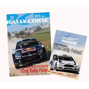 WRC 公式 DVD ラリー・コルセ 2015年 Vol.7 ラリー・ポーランド Rally Corse Vol .7 LOTOS 72nd Rally Poland|modelcarshop-ss43