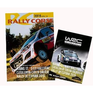 WRC 公式 DVD ラリー・コルセ 2015年 Vol.12 ラリー・スペイン Rally Corse Vol .12 WRC Rd. 12 Rally SPAIN|modelcarshop-ss43