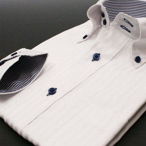 ワイシャツ長袖 メンズ Nシリーズ N16 スリム系 S M L LL modelista