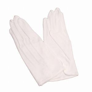 白手袋 正礼装 モーニング用 結婚式 父親 フォーマル マーチングバンド 男性用 綿100% itaの画像