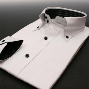 ワイシャツ 長袖 メンズ 形態安定 Nシリーズ N17 スリム系 S M L LL modelista
