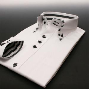 ワイシャツ 長袖 メンズ 形態安定 Nシリーズ N18 スリム系 S M L LL modelista