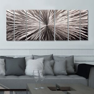 Radiant Velocity アートパネル インテリアアート (モダンアート、壁掛けアート、メタルアート)|modernfactory777|04